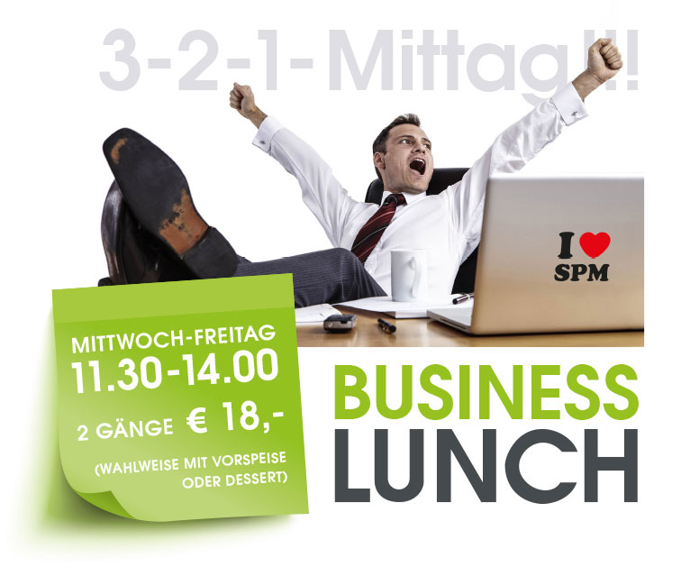 business lunch teaser